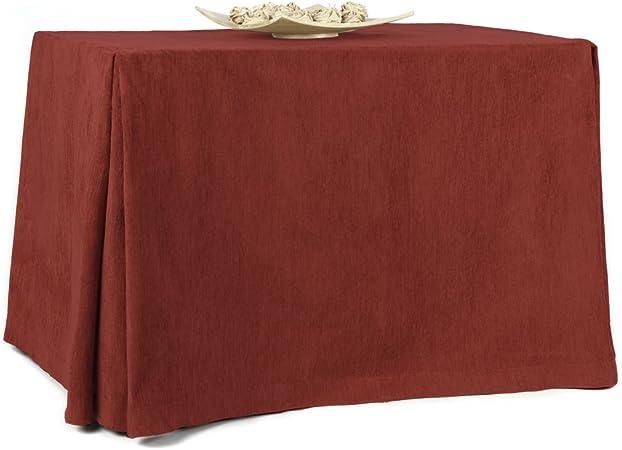 Rioma 110 Falda para Mesa Camilla, Tejido 100% poliéster, Caldera, 110 x 65 x 75 cm: Amazon.es: Hogar