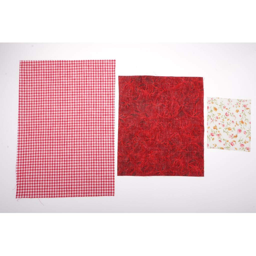 Kit de Materiales de Costura Bricolaje Bolso Floral de Marco ...
