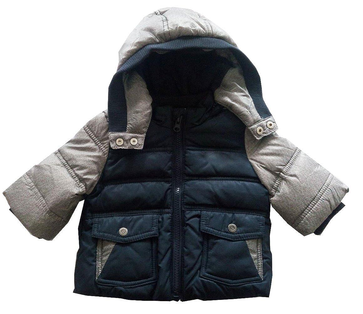 Newborn Infant Boys Down Jacket Hooded Winter Warn Coats Outerwear