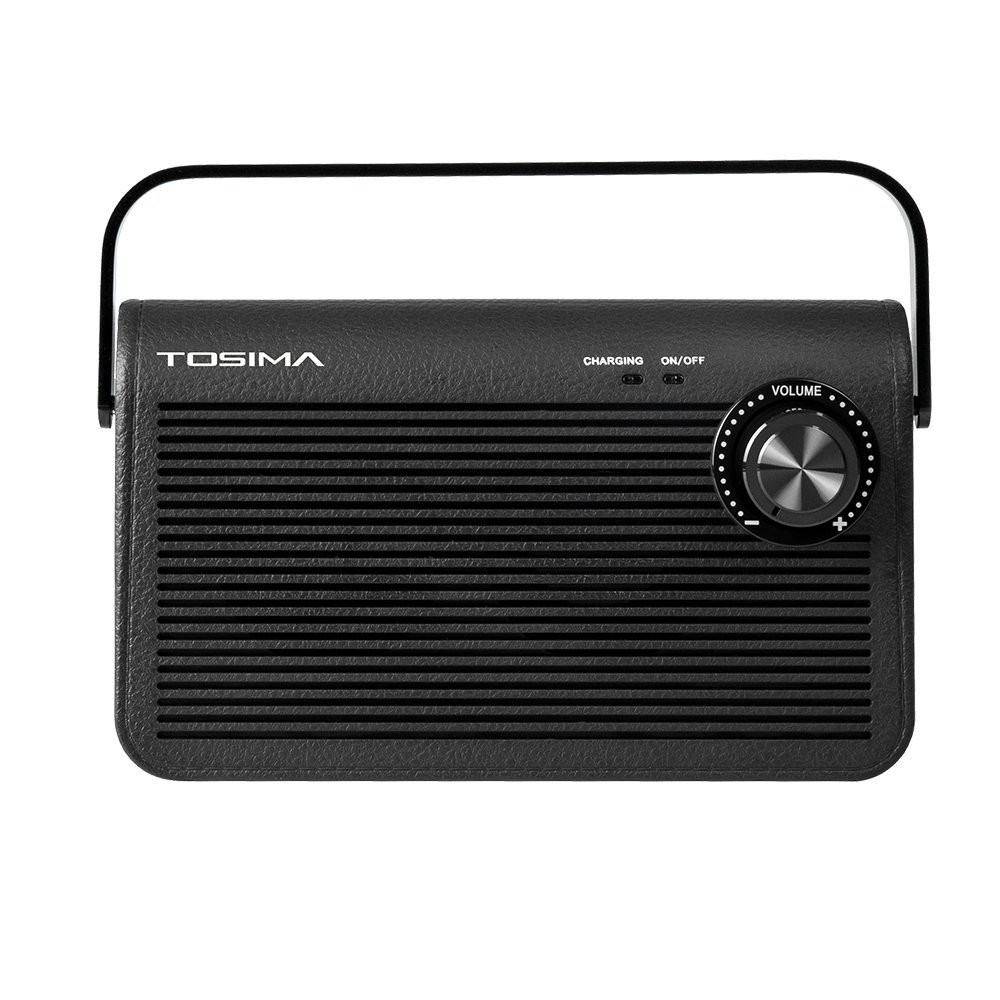 Wireless Speakers for TV,Tosima Portable TV Audio Speaker with 3D Stereo Surround Sound,TV Ears Headset Jack,TV Hearing Aid Devices for Hearing Impaired Seniors iPod Sony