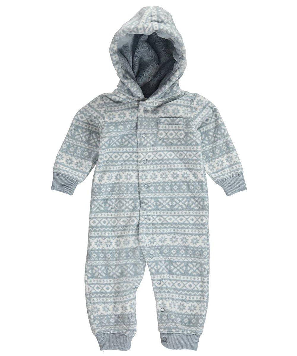 Carters Baby Boy Hooded Fleece Jumpsuit Carter' s 118G025