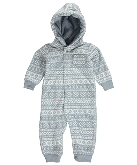 09b31a255037 Amazon.com  Carters Baby Boy Hooded Fleece Jumpsuit  Baby