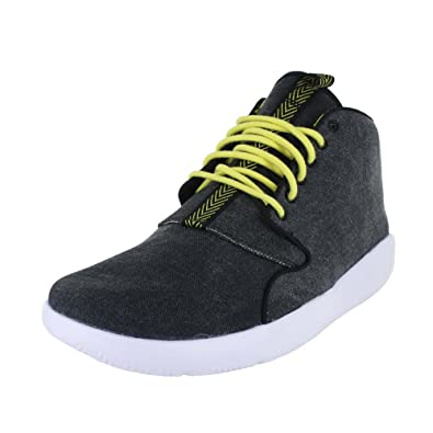 check out 0b839 a2ad5 Jordan Mens Eclipse Chukka Shoes Black Opti Yellow White Size 12.5  Buy  Online at Low Prices in India - Amazon.in