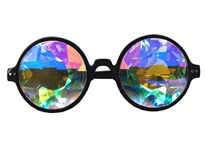Prism Kaleidoscope Rainbow Sunglasses Focussexy Glasses Festivals Swtq8x5T