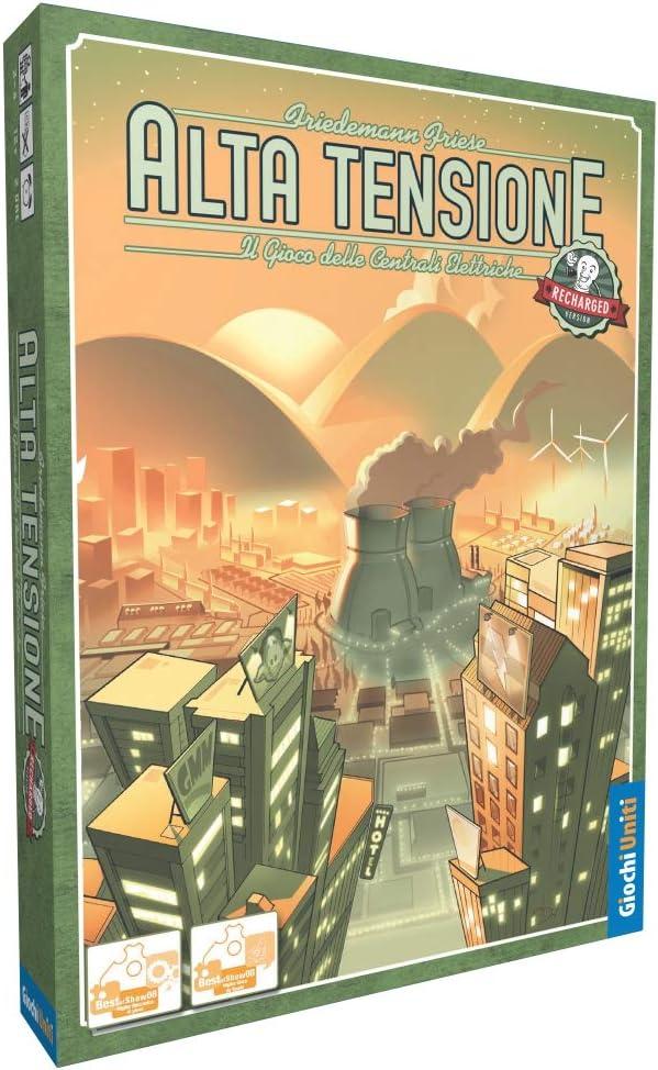 Giochi Uniti-Alta Tensione - Juego de Mesa Recargable, Colores GU647: Amazon.es: Juguetes y juegos