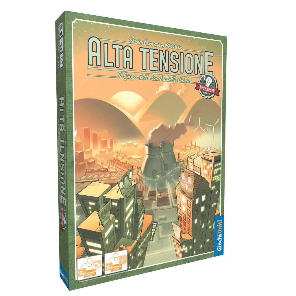 Giochi Uniti - Juego de Mesa de Alta tensión Recargable, Colores ...