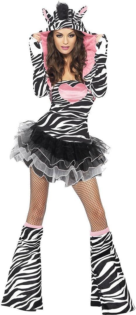 Disfraz de cebra para chica traje safari mujer sexy: Amazon.es ...