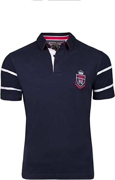 Raging Bull Contrast Sleeve Rugby
