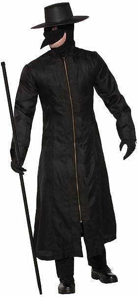 Amazon.com: Foro de los hombres Plague Doctor Costume, talla ...