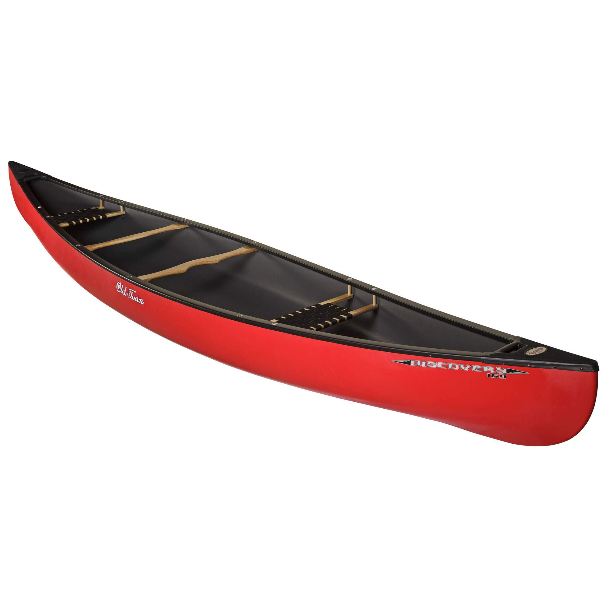 Old Town Discovery 169 Recreational Canoe, Red, 16 Feet 9 Inches by Old Town Canoes & Kayaks
