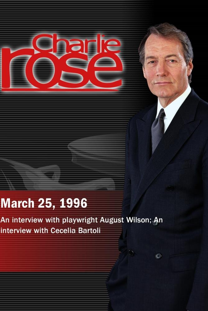 Charlie Rose with August Wilson: Cecilia Bartoli (March 25, 1996)
