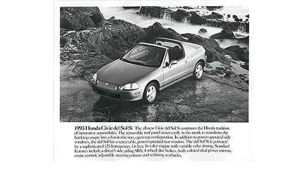 Amazon Com 1993 Honda Civic Del Sol Si Convertible Automobile Photo