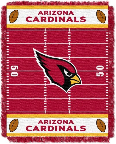 Northwest NFL Arizona Cardinals Field Woven Jacquard Baby 36 x 46