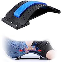 Back Stretcher,CAMTOA Lumbar Support Device Multi-Level Back Massager Spine Deck Back Stretching Treatment Spinal Lumbar…
