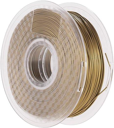 Aibecy Metal Bronce PLA Filamento 1.75 mm Impresora 3D Filamento ...