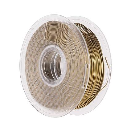 Aibecy Metal Bronce PLA Filamento 1.75 mm Impresora 3D ...