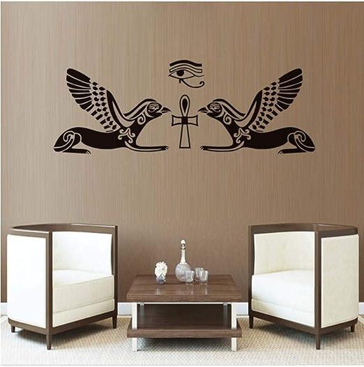 Dalxsh DIY Extraíble Horus Dios Egipcio Ojo Etiqueta de La Pared ...