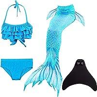 SPEEDEVE Zeemeermin Staart Kinderen Zwemmen Kostuums Sets met zeemeerminvin
