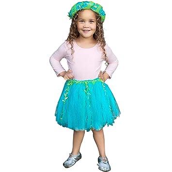 Trullala - Falda Infantil de Sirena Azul 4-6 años Nixe: Amazon.es ...