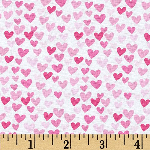 Hearts Cotton Quilt Fabric - 4
