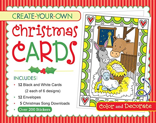 Create Your Own Christmas Cards Activity (Own Christmas Cards)