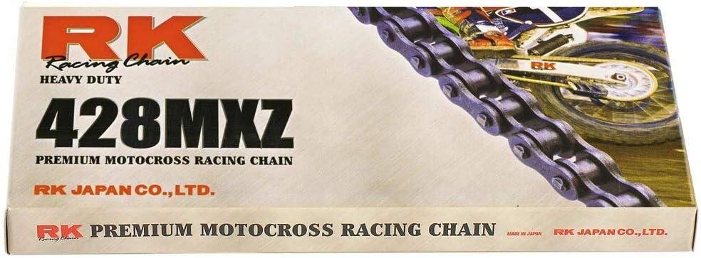 MotoCross Racing Kette RK 428MXZ mit 100 Rollen und Clipschloss offen