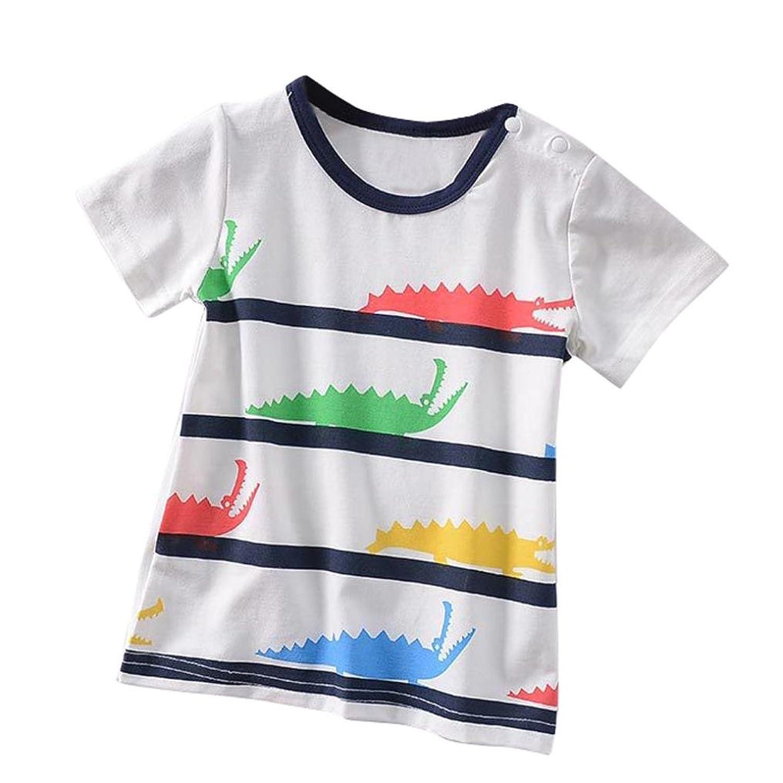Logobeing Niños Verano Ropa Camiseta Manga Corta Dibujos Animados Tops  Blusa 85% OFF 1689e283f6cd1