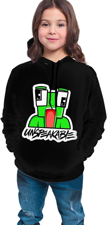 UNSPEAKABLE Hoodies Kids Boys Casual Hooded Long Sleeve Jumper Sweatshirt Tops