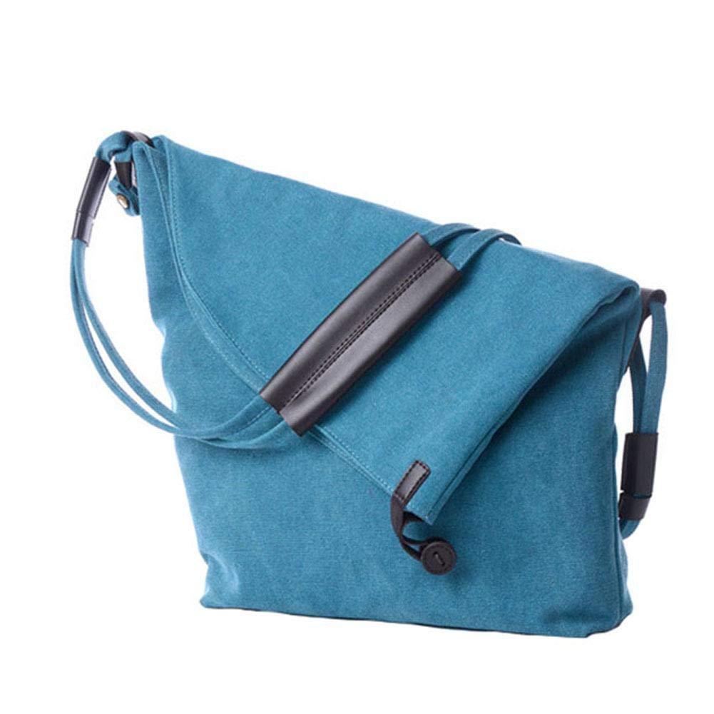 leap-G handtasche damen, umhängetasche damen Reißverschluss, Canvas Schultertasche Shopper Tasche Groß Casual Strandtasche Einkaufstasche College Tasche für Studenten