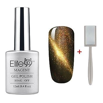 Amazon Elite99 Magnetic 3d Cat Eye Gel Polish Soak Off Uv Led