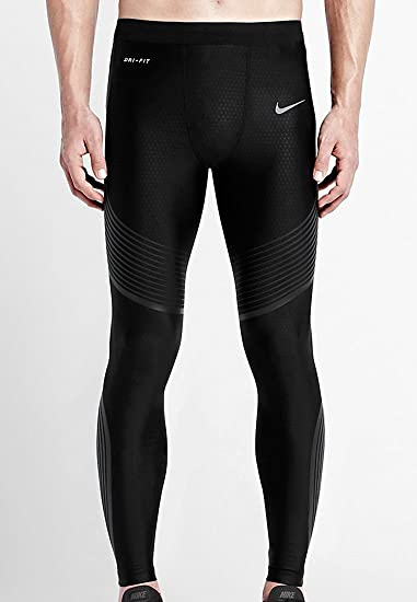 6784b8613c Nike Mens Power Speed Compression Running Tights Pants: Amazon.ca ...