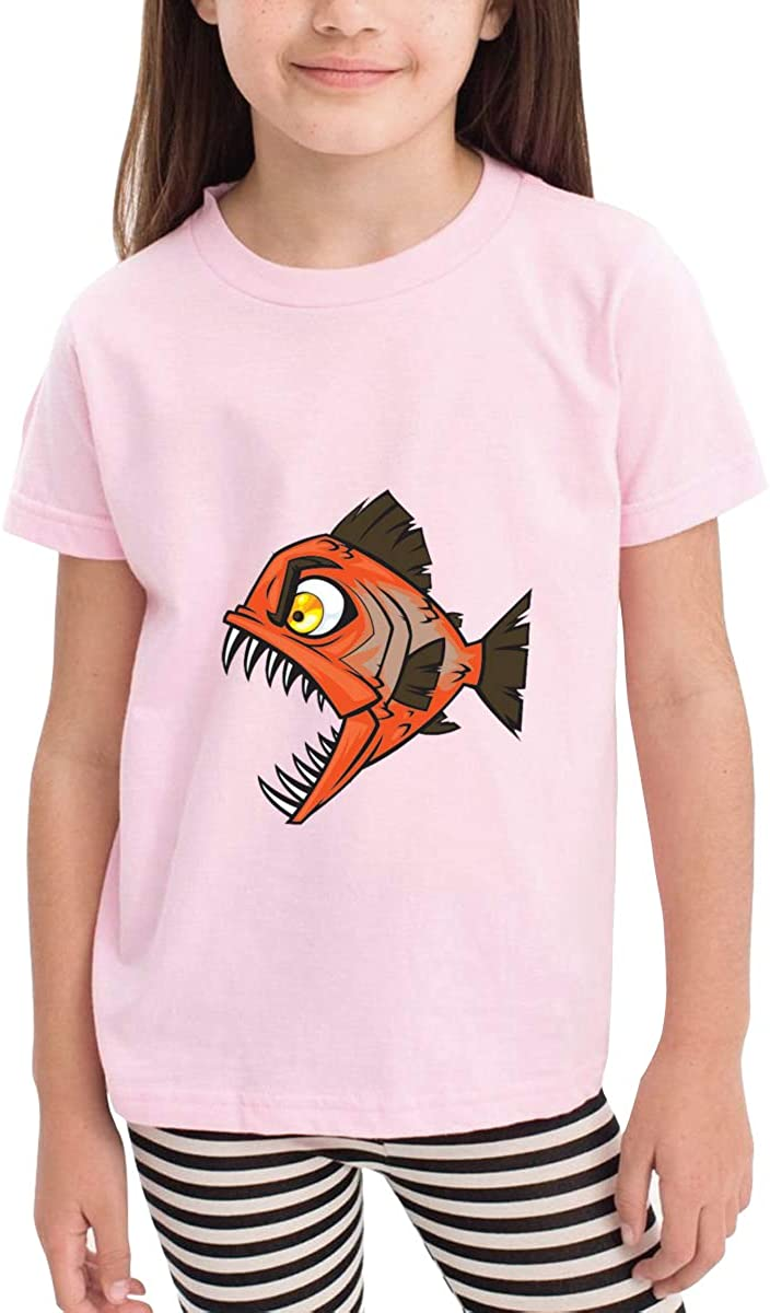 Onlybabycare Piranha Attack 100/% Cotton Toddler Baby Boys Girls Kids Short Sleeve T Shirt Top Tee Clothes 2-6 T