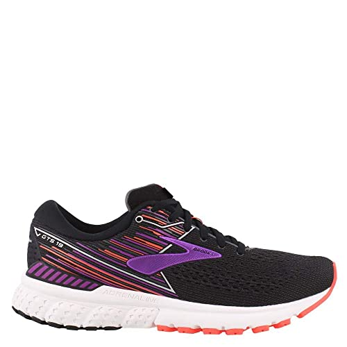 dc44dd9371a Brooks Women s Adrenaline GTS 19 Black Purple Coral 8 D US  Amazon.co.uk   Shoes   Bags