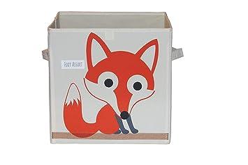 FoxyAssort Lot de 2 Paniers de rangement chambre bébé, Rangement couches  bébé, rangement jouets bain, meubles rangement bébé, Paniers rangement ...