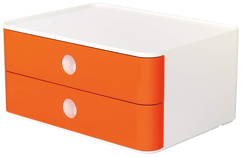 Design Schubladenbox mit 2 Schubladen und Utensilienbox SMART-BOX PLUS ALLISON HAN 1100-83 caramel brown