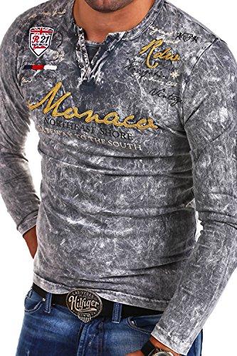 Mt Monaco R Styles 7295 Vintage Vintage T Grau shirt Vt PZPrHn
