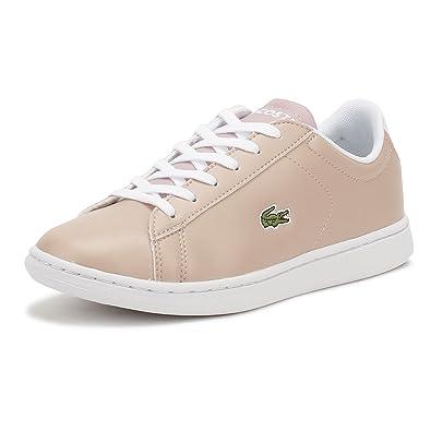 455cb5b408ec13 Lacoste Women Shoes Sneakers Carnaby EVO 317 SPJ LT Pink 39  Amazon ...