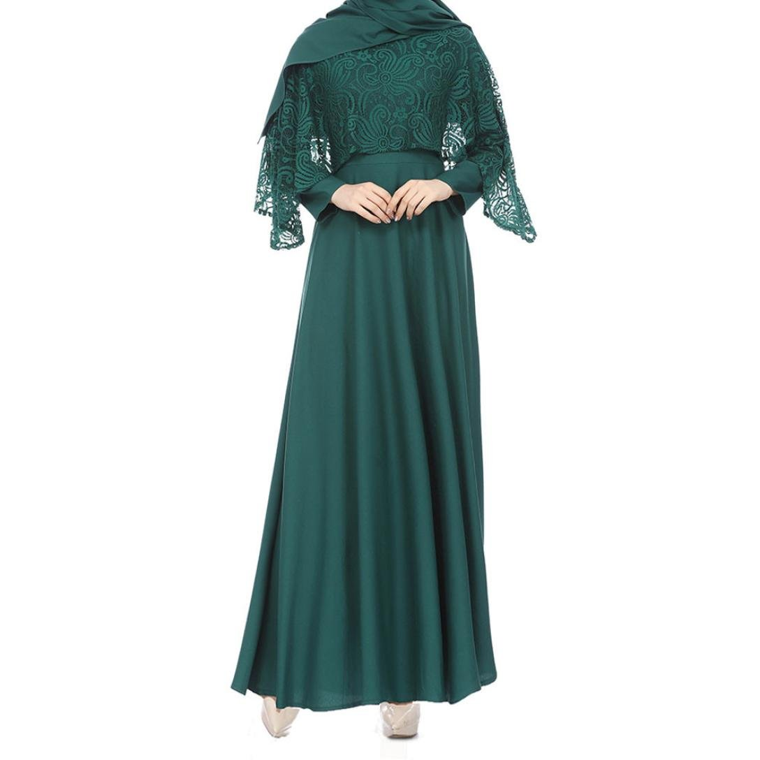7b070bbe82 Abaya Dresses for Modest Women Muslim Islamic Kaftan Long Sleeve ...