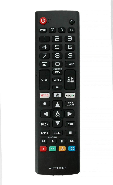RJMom US New AKB75095307 Replace Remote for LG TV 43LJ550M 43LJ5500 43LJ5550 49LJ550M