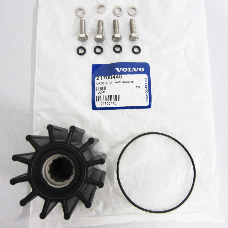 Volvo Penta OEM Water Pump Impeller Kit 21700445
