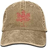 Enpengd Rose The Tragically Hip Canada Flag Newest Men & Women Adjustable Jeans Cotton Baseball Hat Navy