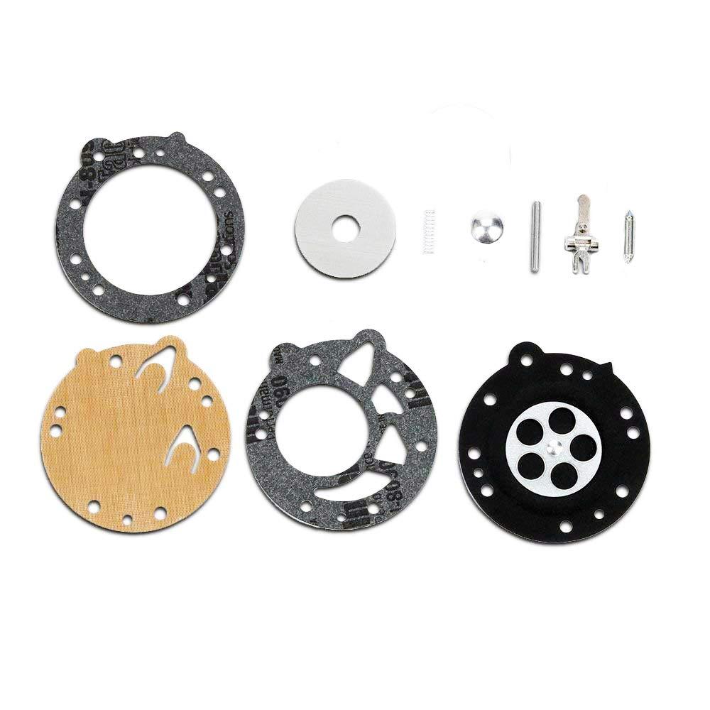 Parrshop Joint diaphragme de carburateur Rebuild kit de ré paration pour Zama Rb-42 Stihl TS350 TS360 08S 070 090 Zama La-s6 S7 S8