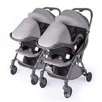 Amazon.com: FDGHFGH Cochecito de bebé, ligero, plegable ...