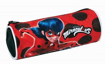 Miraculous Ladybug - Estuche escolar: Amazon.es: Oficina y ...