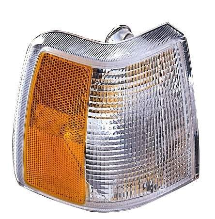 850 Lamp Volvo - For 1993 1994 1995 1996 1997 Volvo 850 Turn Signal Corner Light Lamp Driver Left Side Replacement VO2550103