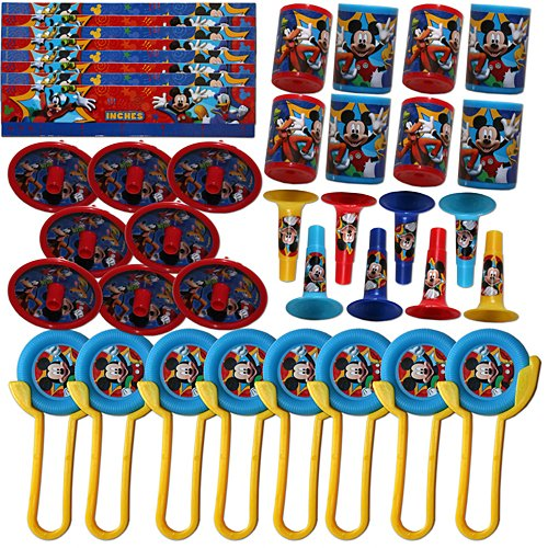 Mickey Mouse Favor Pack 100pc -