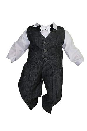 Costard de Baptême bébé Garçon Enfants Enfant baptême Costume Mariage  Costumes Costume de fête ddbb1105ce8