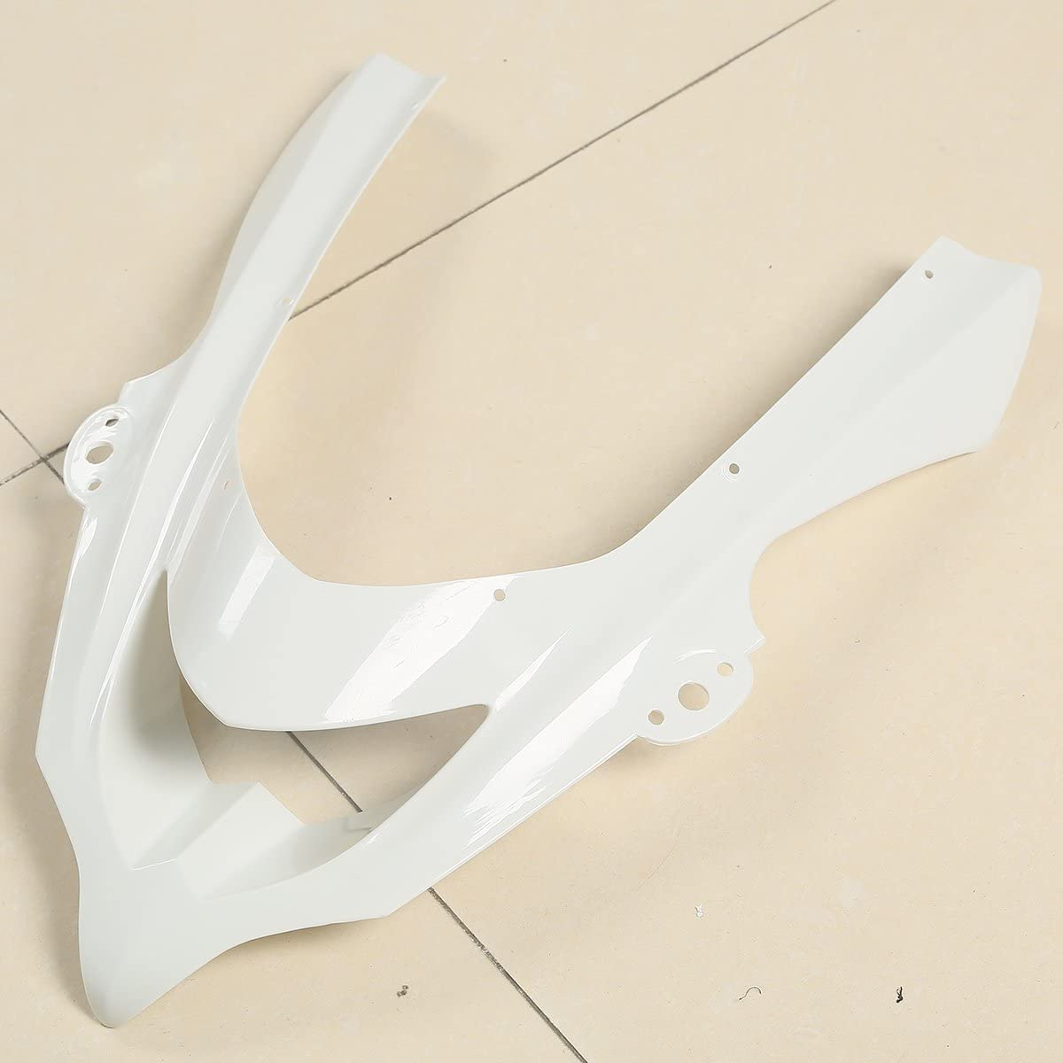 XMT-MOTO Fairing Body Set Kits fits for KAWASAKI Ninja ZX10R ZX-10R ZX 10R 2004-2005,Unpainted White