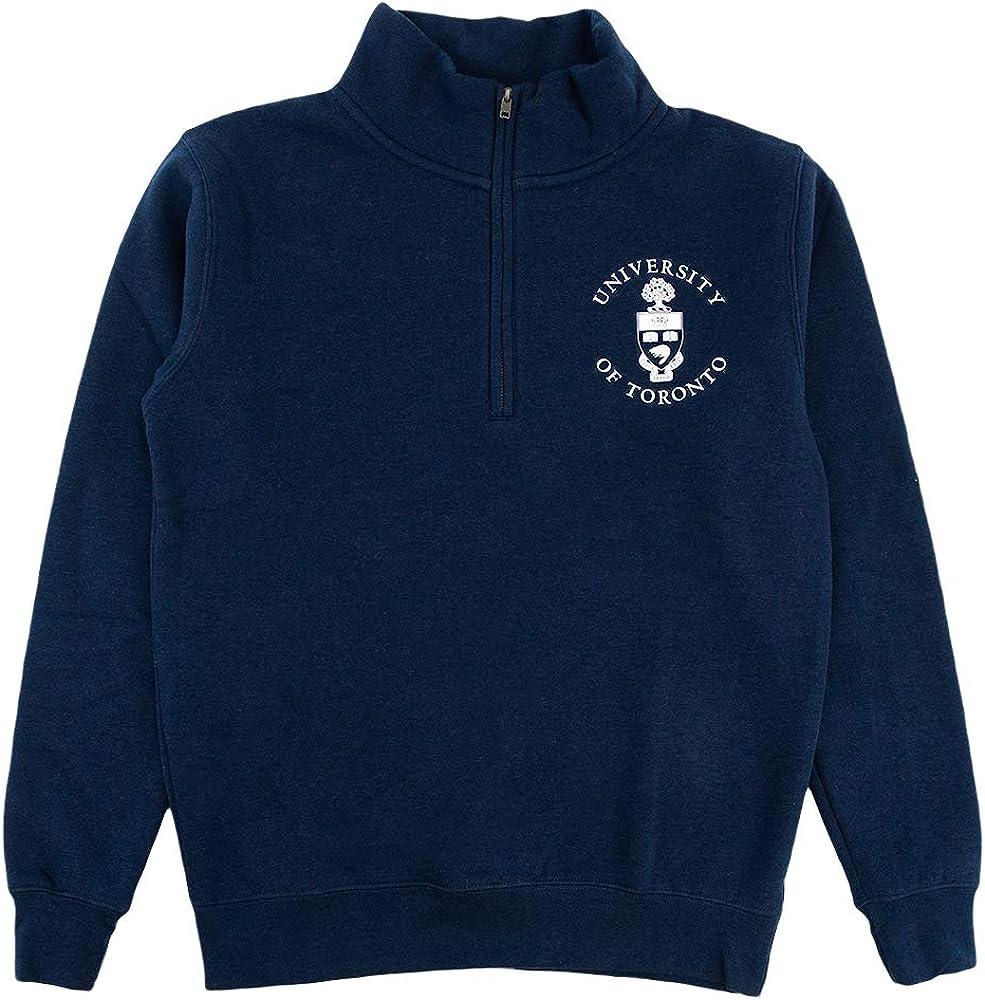 University of Toronto Unisex 1//4 Zip Sweater