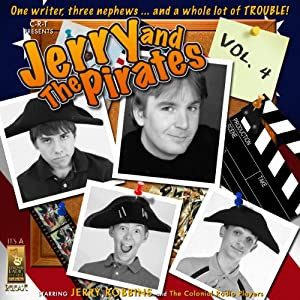 Jerry and the Pirates, Vol. 4 Radio/TV Program